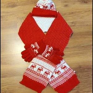 Accessories - 3 for 30 Scarf, hat, gloves set